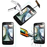 Acm Tempered Glass Screenguard For Lenovo A390 Mobile Screen Guard Scratch Protector