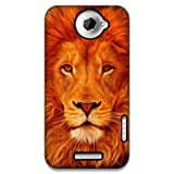 The Racoon Face Of The Lion Printed Designer Hard Plastic Back Case For HTC One X