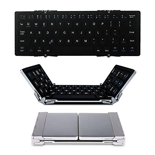 EC Technology Bluetooth キーボード Bluetooth 折りたたみ式 薄型 ワイヤレスキーボード