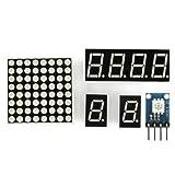 SainSmart Project Starter Kit for Arduino UNO R3 Mega2560 Mega328 Nano, PDF Instructions and Source Code Provided