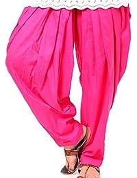 VISION INDIA CLOTHING Women's Cotton Patiala Bottom