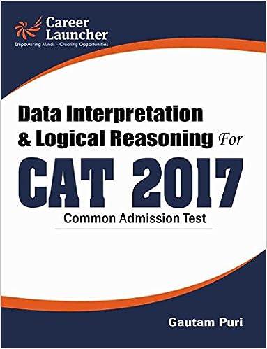 CAT 2017 Data Interpretation & Logical Reasoning