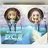 3D DESIGN FIGURE DCII ~ Da Capo II ~ assorted set Yume & Akane