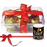 Surprise Your Beloved With Yummy Chocolates With Birthday Mug - Chocholik Luxury Chocolates