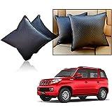 Car Vastra Cushion Pillow Set Black Color For Car & Home For - Mahindra TUV 300