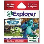 Amazing Disney/Pixar Monsters University Explorer Learning Game By Leap Frog