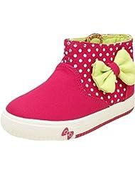 Zebra Girls Cotton Sneakers - B01EA4B24Y