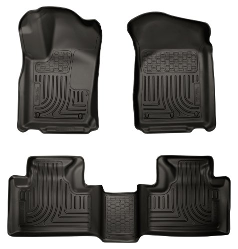 Husky Liners 99051 WeatherBeater Black Front and 2nd Seat Floor Liner