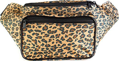 SoJourner Bags Cheetah Fanny Pack - Tan