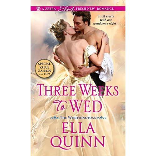 Three Weeks to Wed Quinn, Ella