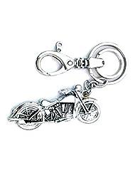 Parrk Metal Locking Key Chain For Bullet Bike - B017SS9H1Y
