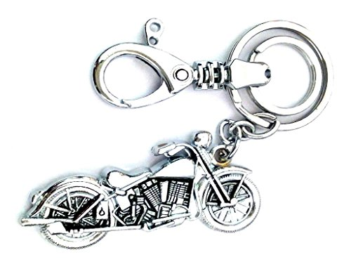 Parrk Metal Locking Key Chain For Bullet Bike - B017SS9H1Y