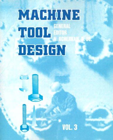Machine Tool Design Ebook