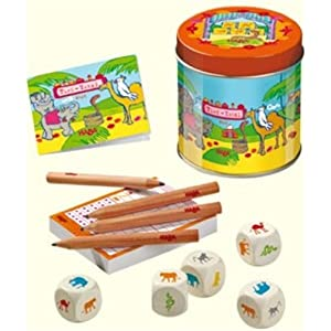 Click to buy Yahtzee games: Animals edition from Amazon!