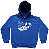 Hat-Trick Designs Everton Football Baby/Kids/Childrens Hoodie Sweatshirt-7-8Yrs-Royal Blue-Future Star-Unisex Gift