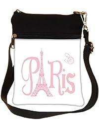 Snoogg Paris Eiffel A 2500 Cross Body Tote Bag / Shoulder Sling Carry Bag