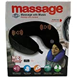 Guee Ergonomically Travel Neck Massage Pillow With Music Mp3 Ready(With Free Token) By House Of Gifts.