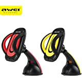 TGK® AWEI Branded X7 Universal Windshield Mount Stand Car Home Desk Holder Suction For Mobile Phone Smartphone