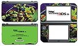 Teenage Mutant Ninja Turtles TMNT Leonardo Leo Michaelangelo Donatello Raphael Cartoon Movie Video Game Vinyl Decal Skin Sticker Cover for the New Nintendo 3DS XL LL 2015 System Console