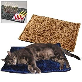 Pet Thermal Cat Mat - Beige Color