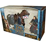 ToyBiz Year 2003 The Lord Of The Rings Movie Series The Return Of The King Deluxe Horse And Rider Set - Aragorn...