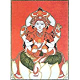 "Dolls Of India ""Mrityunjaya"" Reprint On Paper - Unframed (40.01 X 29.84 Centimeters)"