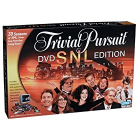Click to buy Saturday Night Live Trivial Pursuit DVD edition from Amazon!