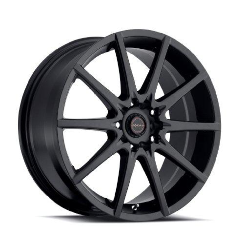 Focal 428SB F-04 Matte Black Wheel (17×7.5″/5x100mm, +42 mm offset)