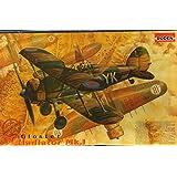 Roden 1:48 Biplane Gloster Gladiator Mk.I Plastic Model Kit #408