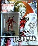 DC Comics Super Hero Collection Lead Figurine: Deadman #74 / Eaglemoss - Sealed w/Collector's Magazine - VERY RARE!!