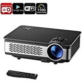 Generic Android HD Projector - 1500 Lumen, 1280x768p, Android OS, 1GB RAM, 1080p Support, 120W LED, WiFi, Built-in Speaker, Google Play