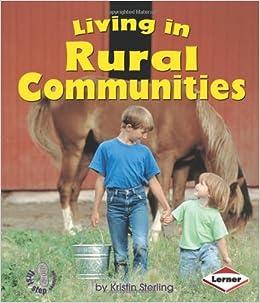 My Communities Interactive Book: Urban, Suburban, Rural Communities