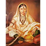 "Dolls Of India ""Indian Beauty"" Reprint On Paper - Unframed (71.12 X 55.88 Centimeters)"