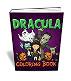 Scary Halloween Coloring Books Bundle - Two Great Scary Halloween Coloring Books for Kids - Includes a Goosebumps Scary Coloring Book and a Dracula Coloring Book for Kids with 80+ Great Images - Ideal for Boys and Girls and Absolutely Mom Approved