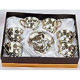 Royal Cup And Saucer Set | 12 Pieces Cup And Saucer Set (Design 4)