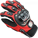 OSS-FUEL FUEL Pro-Biker Motorcycle/Bike Riding Gloves XL_Red