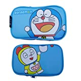 Generic Soft Cartoon Travel Carry Game Case Bag Pouch Sleeve Compatible for Nintendo 3DSLL 3DSXL Style Doraemon