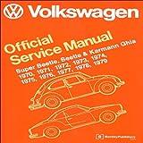 Image of Volkswagen Official Service Manual Super Beetle, Beetle & Karmann Ghia: 1970-1979