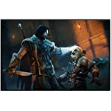 Styzzy Shadow Of Mordor Gaming Poster Paper Print -9