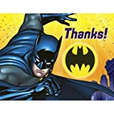 Batman The Dark Knight Thank You Notes 8ct