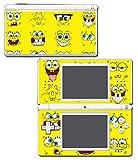 Spongebob Squarepants Sponge Bob Patrick Faces Cartoon Video Game Vinyl Decal Skin Sticker Cover for Nintendo DS Lite System