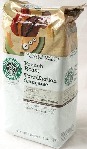 KIRKLAND スターバックス フレンチローストコーヒー (豆)1.134kg×24パック