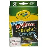 Crayola Dry Erase Crayons Bright