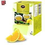 Jay Green Lemon 25 ENV Green Tea Bags With Grapefruit Peel