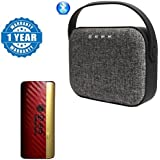 Captcha Universal Bag Style Wireless Bluetooth Speaker Micro SD & USB Support With D-era Power Bank 13000 Mah With Led Indicators (1 Year Warranty)