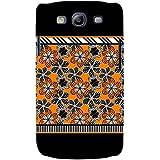For Samsung Galaxy S3 I9300 :: Samsung I9305 Galaxy S III :: Samsung Galaxy S III LTE Floral Pattern ( Floral Background, Flower, Many Flower, Black Background ) Printed Designer Back Case Cover By FashionCops
