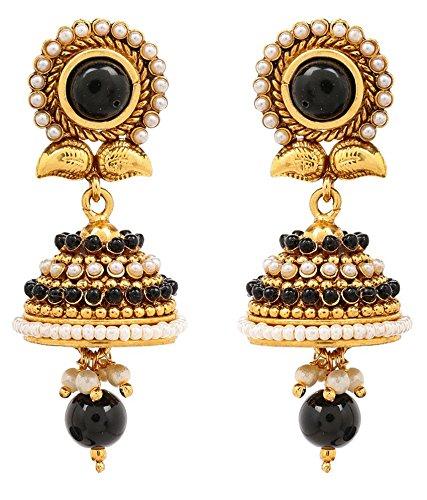 Akshim Multicolour Alloy Earrings For Women - B00NPYAP1C