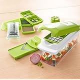 ShopAIS Nicer Dicer Plus Multi Chopper Vegetable Cutter Fruit Slicer + SlingGrip - Grip Your Phone, IPod, Tablet...