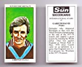 Sun SOCCERCARD No 371 - Burnley IAN BRENNAN collectable football card