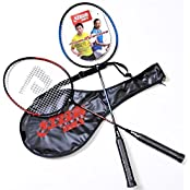 Pair Of Sport DHS Primary Training Badminton Rackets DHS 208 With Case New